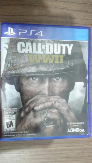 Call Of Duty Wwii Ps4 Play 4 Vendo O Cambio sin rayones