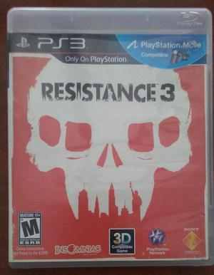 Juego Resistance 3 Ps3 Original