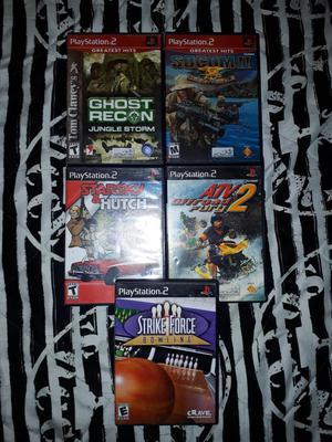 Se Venden Juegos de Play 2 Originales
