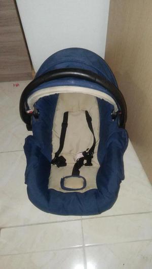 Silla para carro portabebe travel system Ebaby Azul