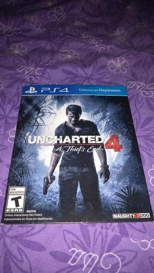 Uncharted 4 para Play 4 Ps4