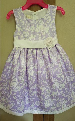 Vestido Elegante Para Niña Talla 4t Marca American Princess