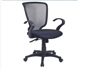 silla de malla gerencial sencilla Giratoria Alcolchonable