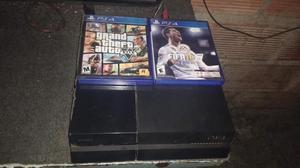vendo xbox one con dos controles y cuatro juegos fisicos y 4