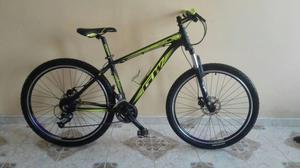 Bicicleta en aluminio rin 27.5' grupo altus, freno de disco