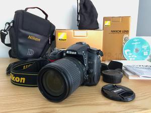 Camara Nikon D Lente Dx mm
