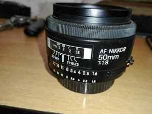 Lente Nikon Af Nikkor 50mm F1.8 Nuevo