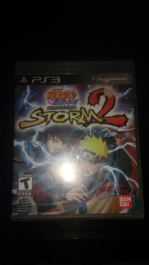 Naruto Ninja Storm 2 Ps3 Play 3 Vendo O Cambio Excelente