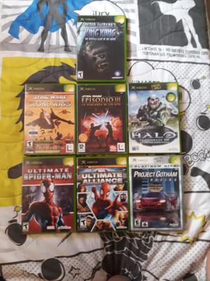 Vendo Juegos de Xbox en Perfecto Estado