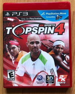 Videojuego Top Spin 4 para Playstation 3