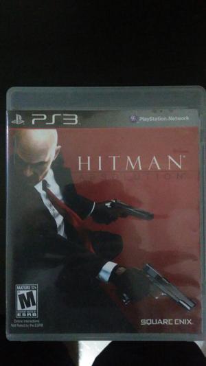Hitman Absolution Asesino Profesional PS3 Play 3 Como Nuevo