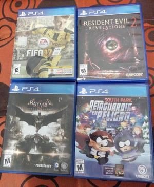 Ps4 Juegos Playstation 4 Y Plus