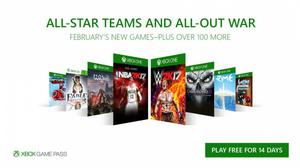 Xbox Game Pass 2 Meses