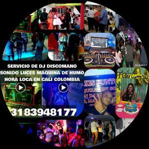 APROVECHE CALI ALQUILER DE SONIDO CON DJ LUCES