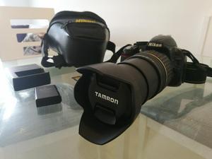 Camara Nikon D Lente Tamrom mm