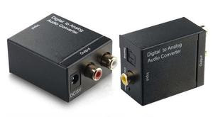 Convertidor audio óptico a RCA para Smart TV