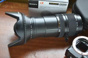 LENTE SONY DT 18 A 200mm F3,5 PARA SONY VG SONY NEX 357