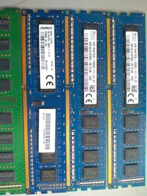 Memoria Ram Ddr3 4 Gb para Pc