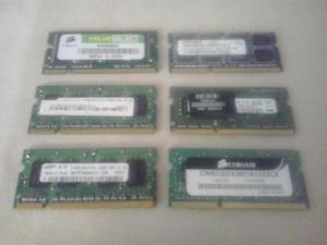 Memorias Ram DDR3 de 2gb para laptop o minilaptop totalmente