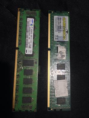 Memorias Ram Ddr3 de 4Gb