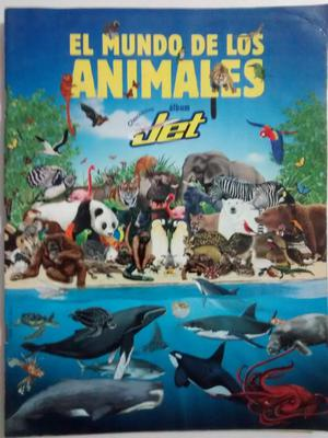 Album Jet El Mundo de Los Animales Y Animales Prehistoricos,