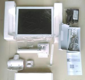 MONITOR LCD DE 17´´ CON CAMARA INTRAORAL Y SOPORTE /