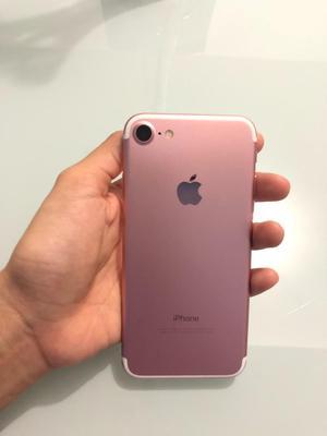 iPhone 7 de 32 Gb Rose Gold con Cargador
