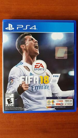 Fifa 18 para Ps4 en Perfecto Estado