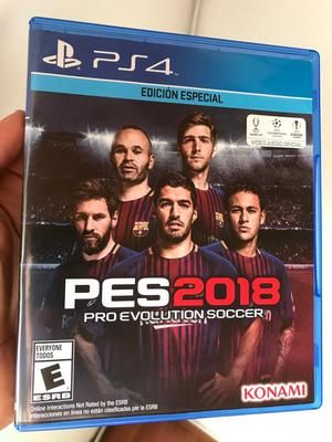 Pes  para Ps4 en Perfecto Estado