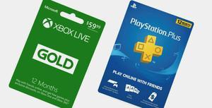 Ps Plus Xbox Live Psn Card Game Pass Ya
