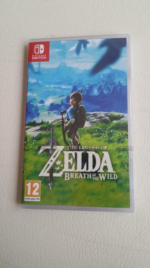 Se vende juego Zelda para Nintendo Switch nuevo y sellado.