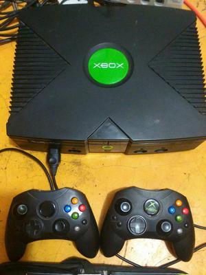 Vendo O Cambio Xbox Clasico 2 Controles