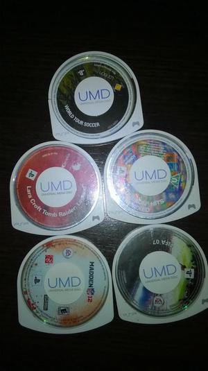 Vendo/Cambio Vídeo Juegos UMD x 5 para PSP play station