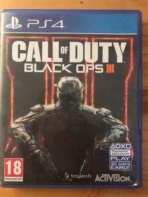 Call Of Duty Black Ops 3 Ps4 PELICULA PLAY 4