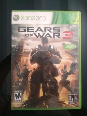 Gears of War 3 Juego original para Xbox 360 en perfecto