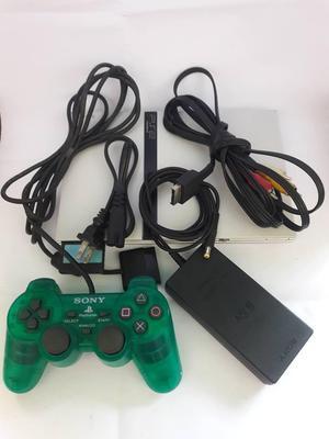 Playstation 2 1 Control Cables 2 Juegos Lee Copias