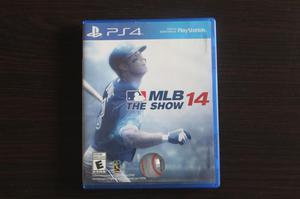 VENDO JUEGO MLB 14, PARA PS4.