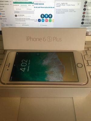 Ganga iPhone 6S Plus 128Gb Rosado Libre
