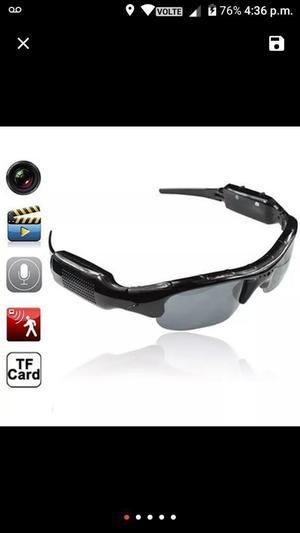 Espectaculares Gafas con Camara Digital