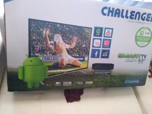 Tv Smart Marca Challenger de 43 Pulgadas