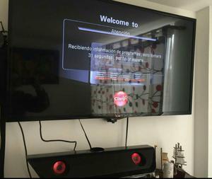Vendo Tv Led 43 Lg con Barra de Sonido