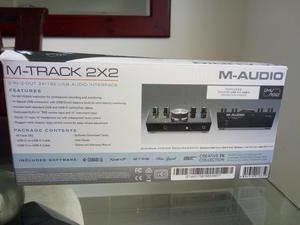 Vendo interfaz M TRACK 2X2 NUEVA CON FACTURA