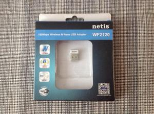 Adaptador USB WIFI 150Mbps Marca Netis