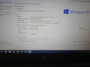 Portatil HP Intel 5, 7 generacion