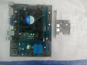 Combo Board H61mk Procesador Y Memoria