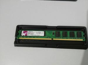 Memoria Ram DDR2, 2GB Marca Kingston Usada 800Mhz.
