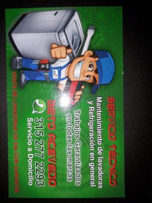 Servicio Tecnico/venta de Lavadoras