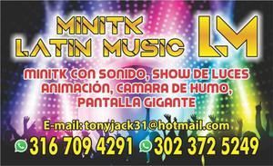 MINITK LATIN MUSIC ALQUILER DE SONIDO PARA EVENTOS