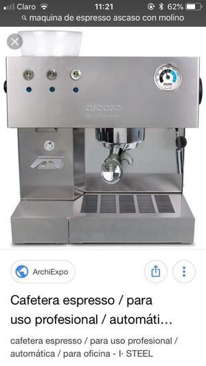Máquina espreso ASCASO