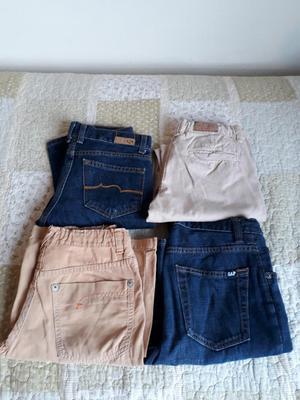 Pantalones de Marca para Niño Talla 12